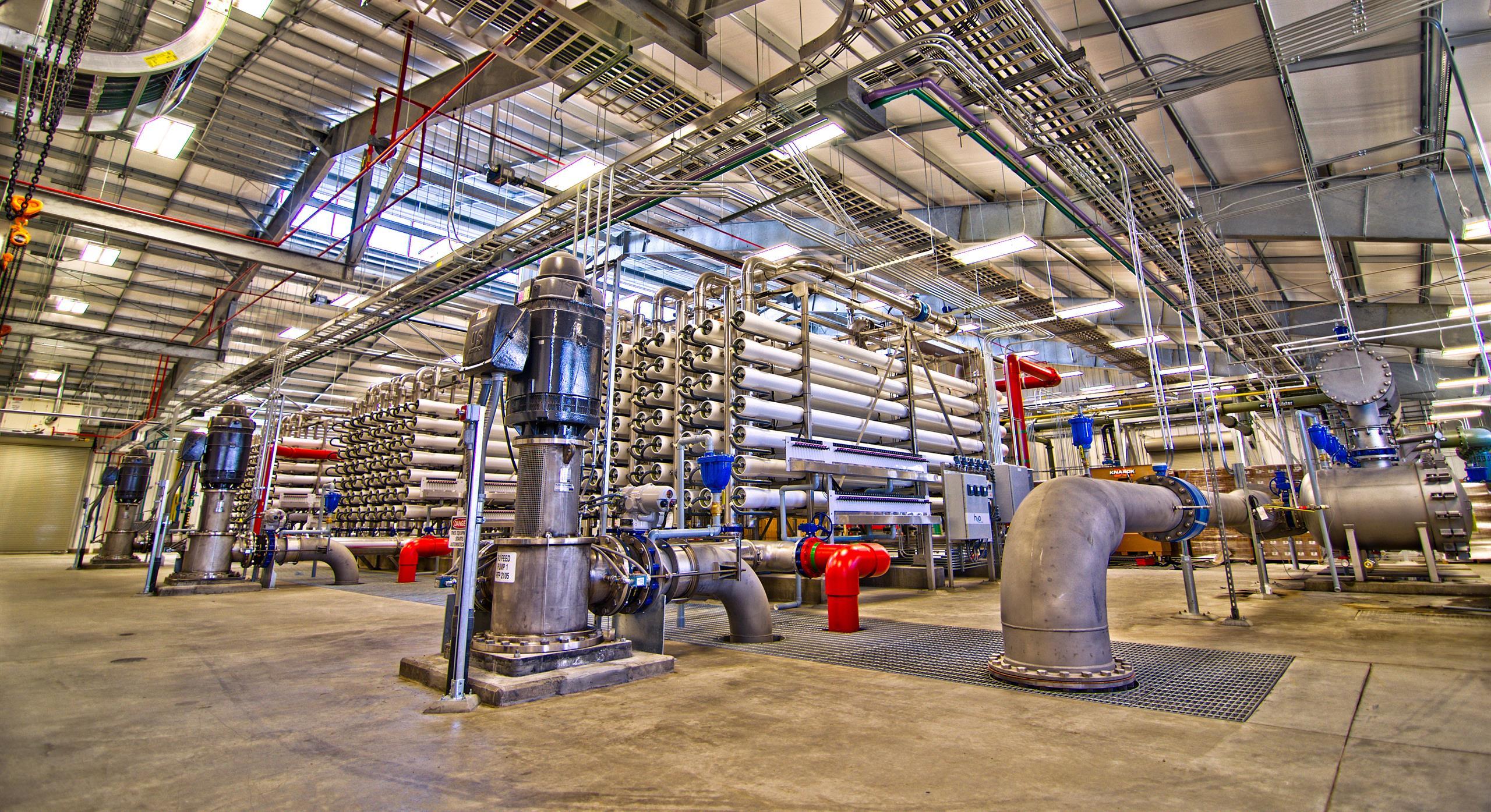 Reverse osmosis water treatment plant, USA - Mott MacDonald