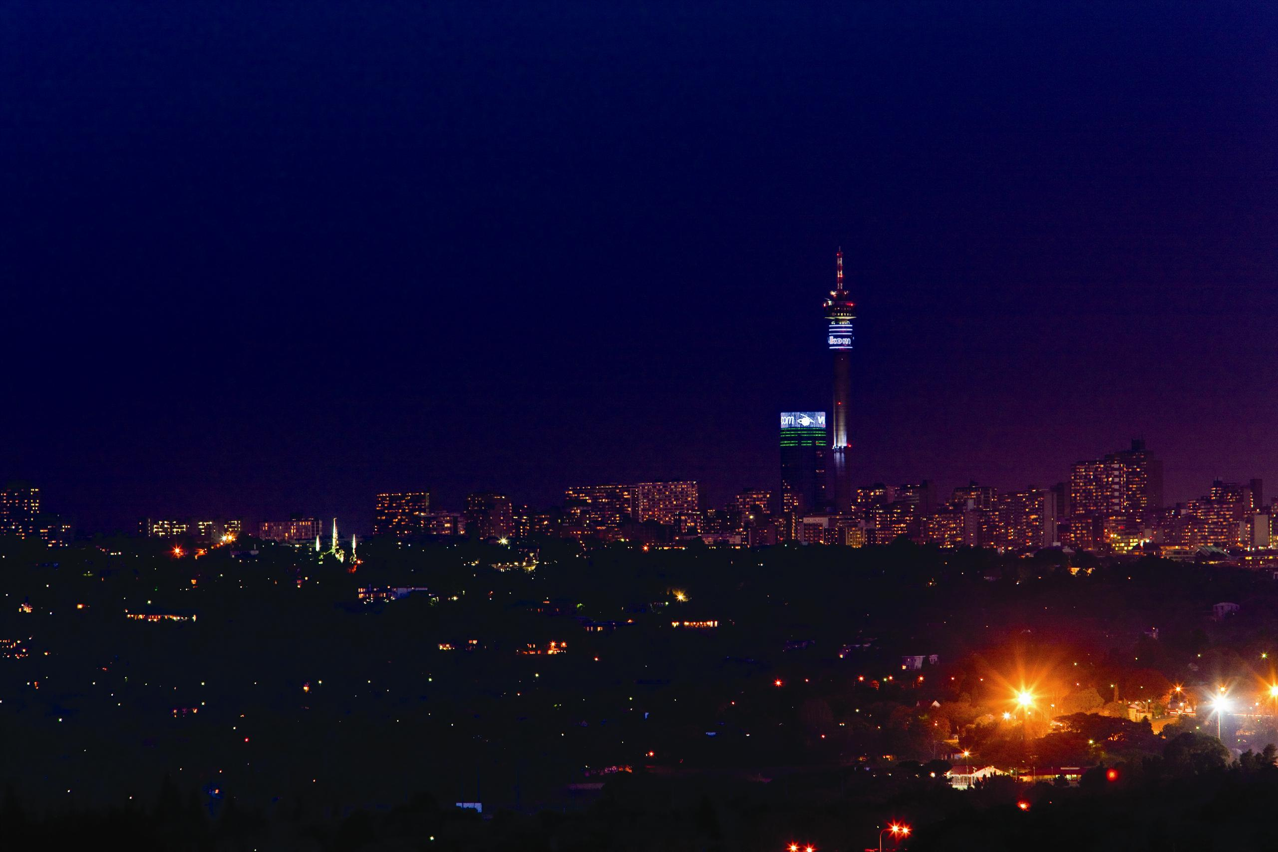 Johannesburg broadband tower