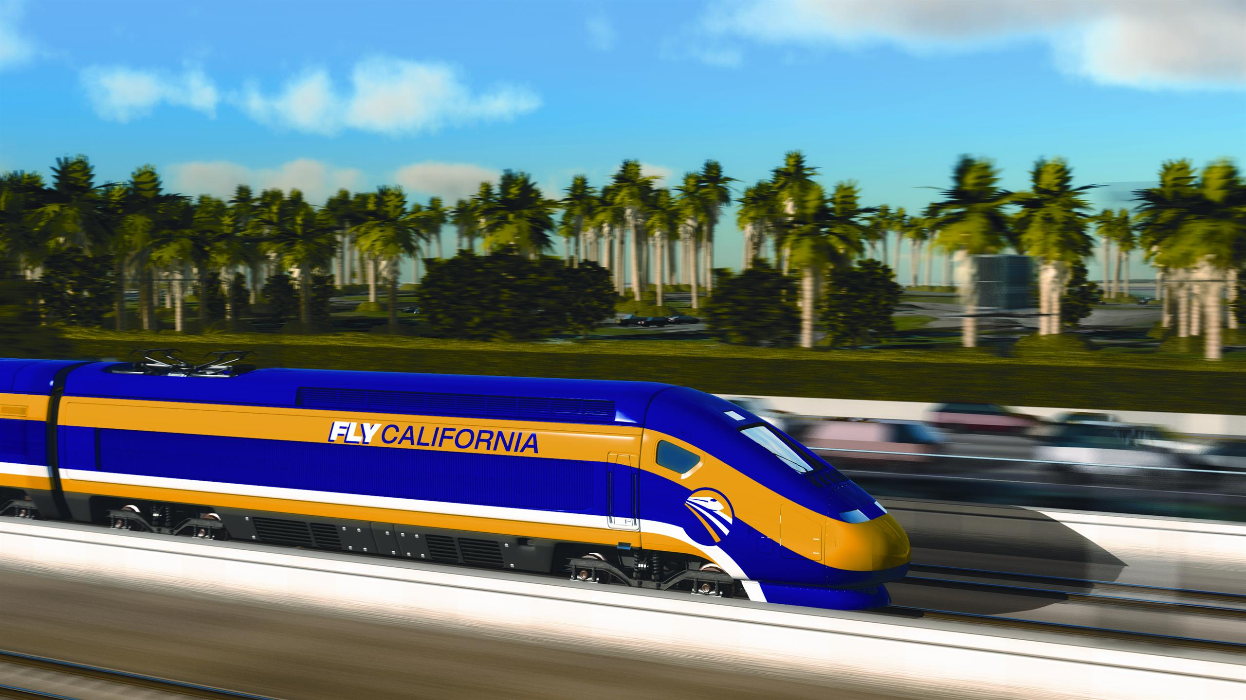 Visualisation of high speed train