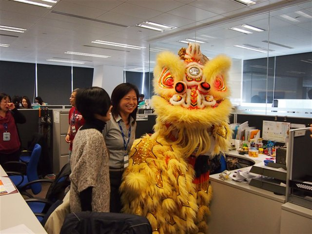 Miranda during Chinese new year