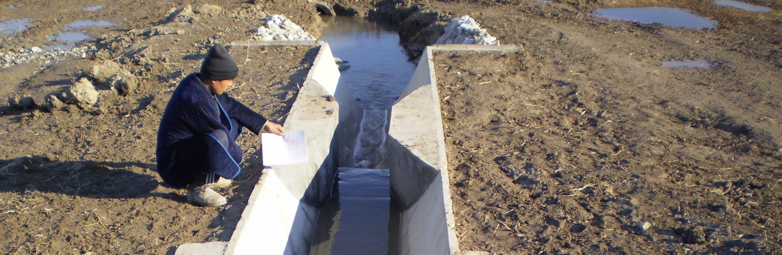 Improved water management will reduce flows diverted from the Syr Darya for irrigation