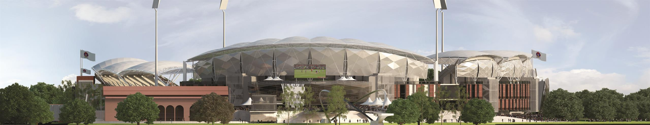 Visualisation of the redevelopment