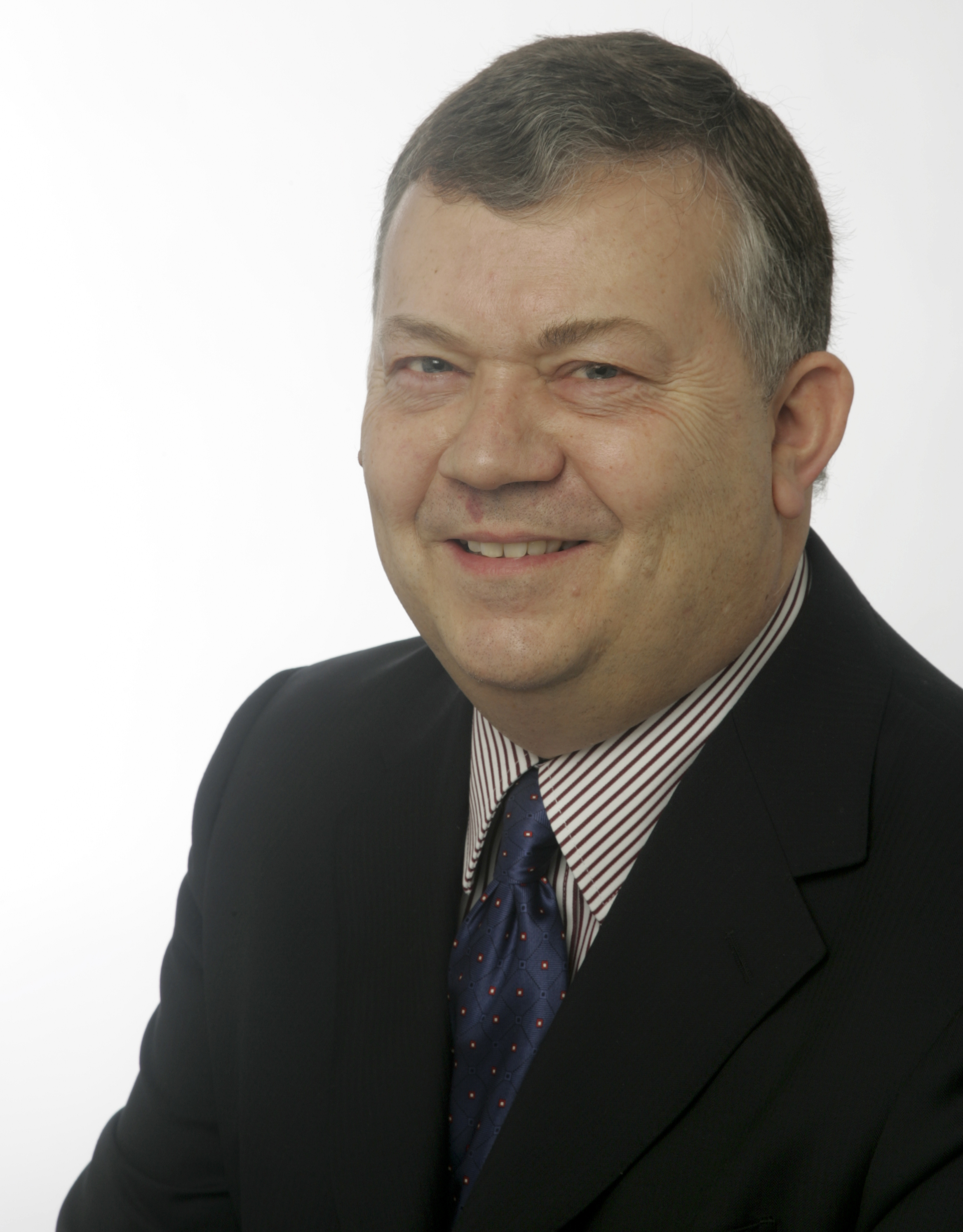 portrait image of chairman Keith Howells