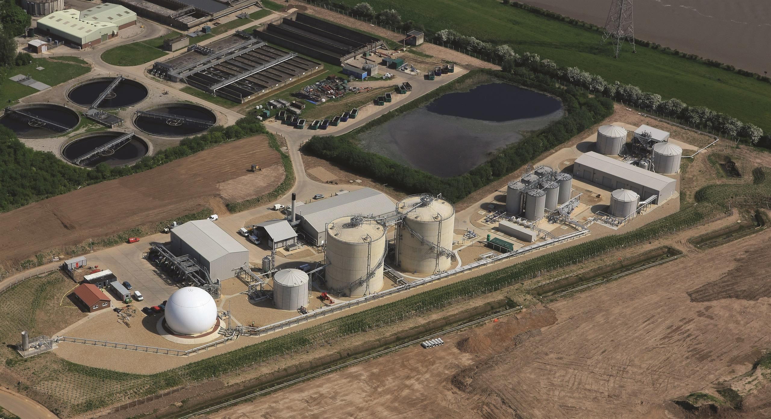 Anglian Water Amp4 Biosolids Programme Uk Mott Macdonald