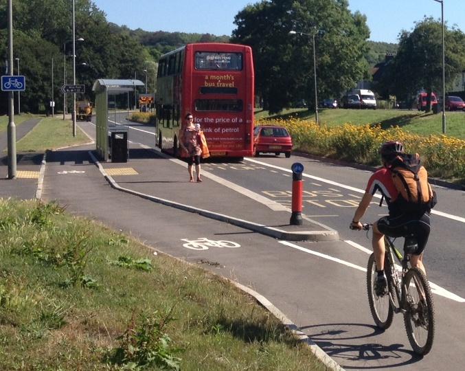 Lewes Road cycle scheme