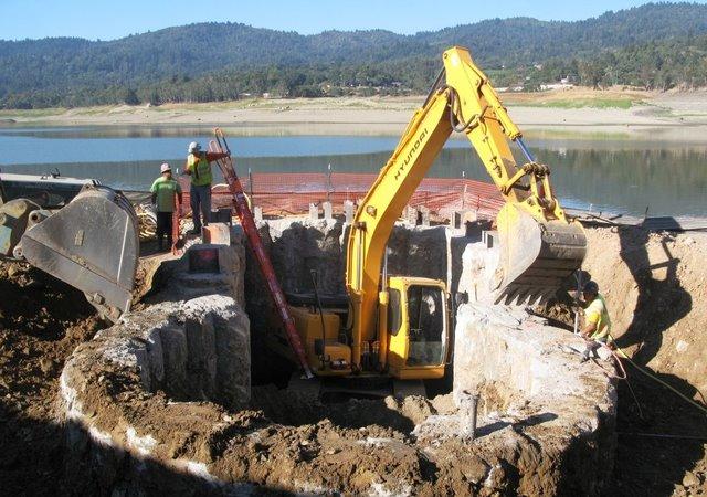 Sacramento's Lower Northwest Interceptor pipeline - Mott