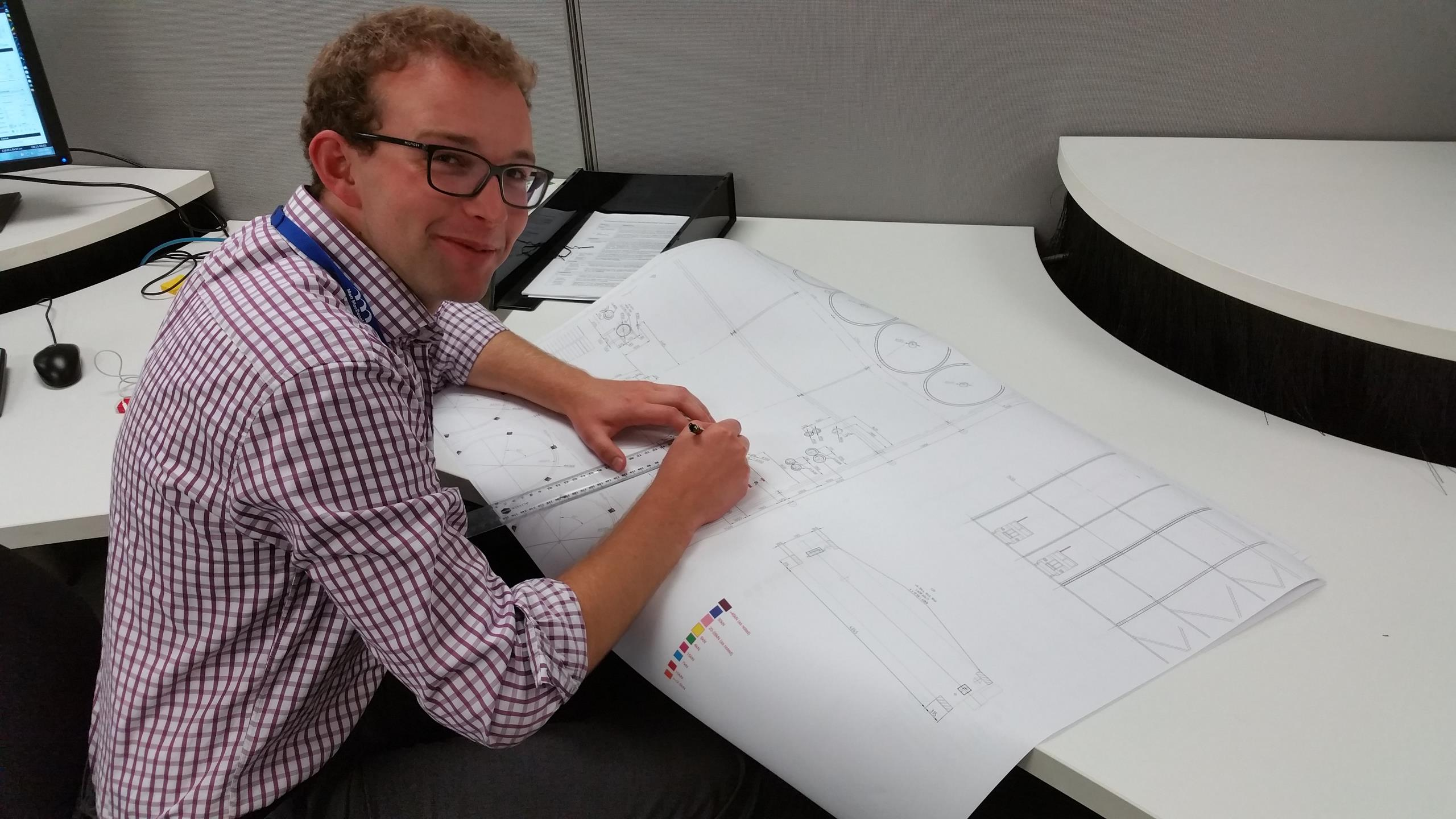 Tom is one of our graduate civil engineers
