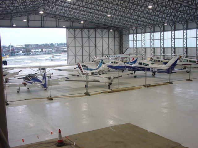 We have completed a number of projects for Multiflight, including two large aircraft hangars as part of a development to improve private aircraft facilities at Leeds Bradford International Airport.