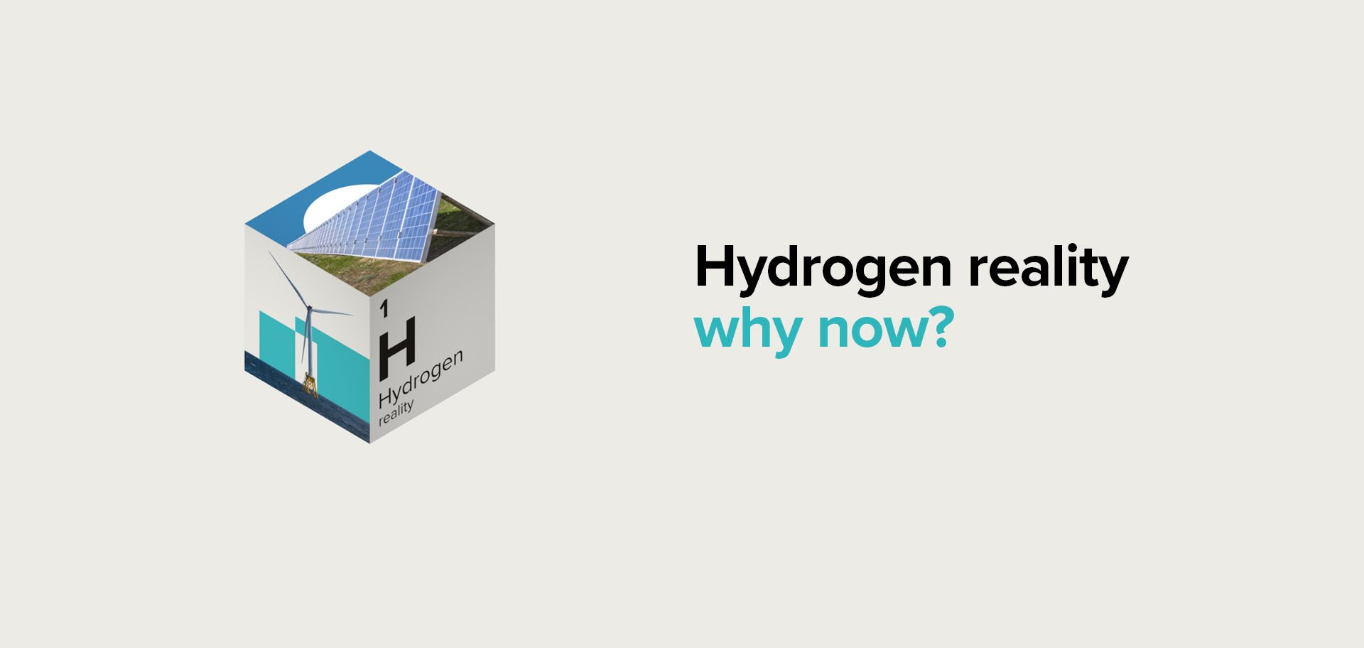 A graphic showing Hydrogen as the future of renewable energy