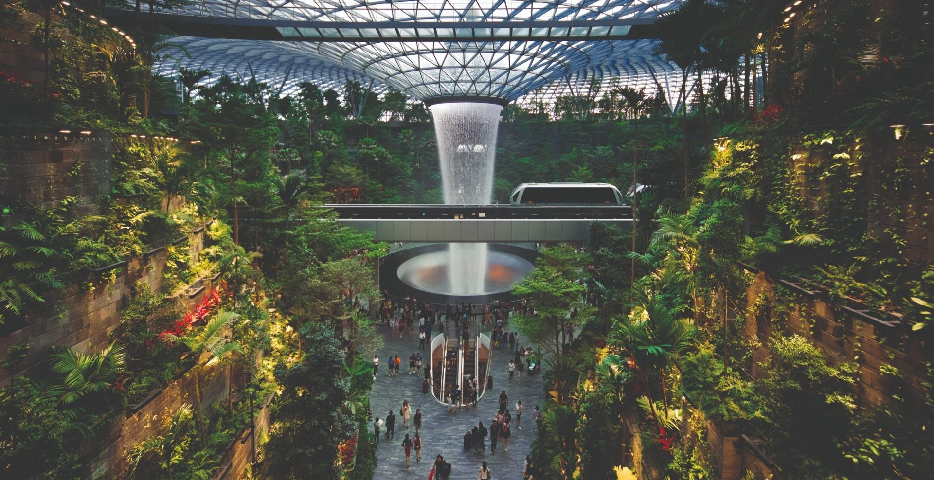 Jewel Changi Airport (Jewel), a multi-dimensional lifestyle destination in Singapore, has opened.